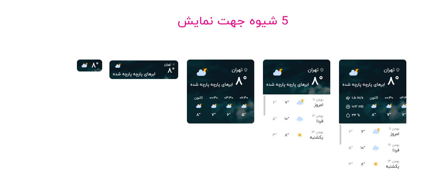 wp qaleb.ir 3 Copy - افزونه وضعیت آب و هوا