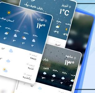 افزونه وضعیت آب و هوا